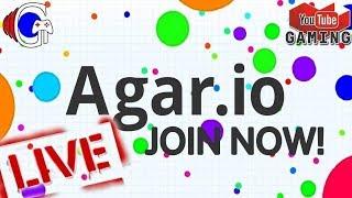 Agar.io Live Stream  /TYPE XRYT LIVE TO FEED
