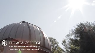 Radio Telescope - Ithaca College Physics and Astronomy Summer Research