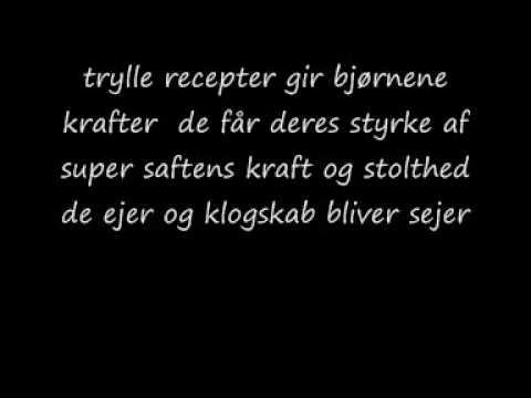 bubbibjørn dansk med lyrics