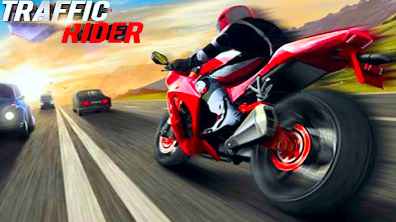 Мультики про Машинки гонка на мотоциклах TRAFFIC RIDER ВЕСЕЛОЕ НОВОЕ ВИДЕО ДЛЯ ДЕТЕЙ