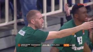 Panathinaikos Athens - Barcelona Lassa 84-75 |Highlights|