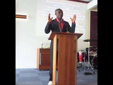 "Holy International Christian Ministries ""The 10 Christian Values"" By Pastor Kapinga D.Mushagalusa"