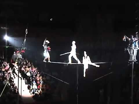Show Productions Ltd Presents : High Wire Acrobatics Act, Entertainment Hire