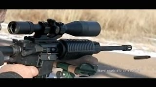 DPMS Oracle AR15 slow motion, 600 frames/second