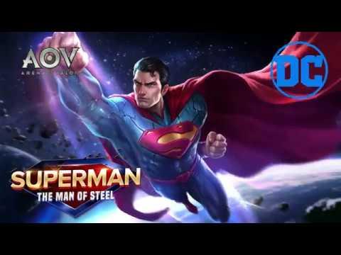 Garena Aov Arena Of Valor Mainkan Moba Dengan Superman