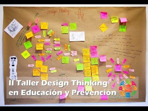 TALLER DESIGN THINKING EN EDUCACIÓN Y PREVENCIÓN