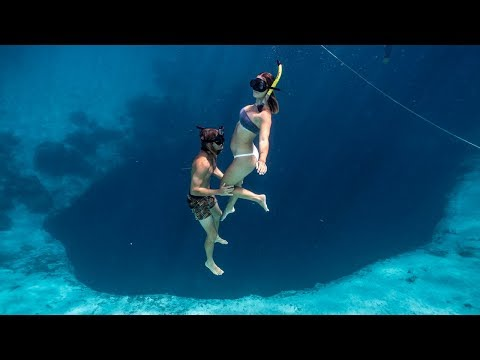 Freediving The Deepest Blue Hole In The World! Ep. 174 Mp3