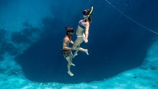 freediving-the-deepest-blue-hole-in-the-world-ep-174