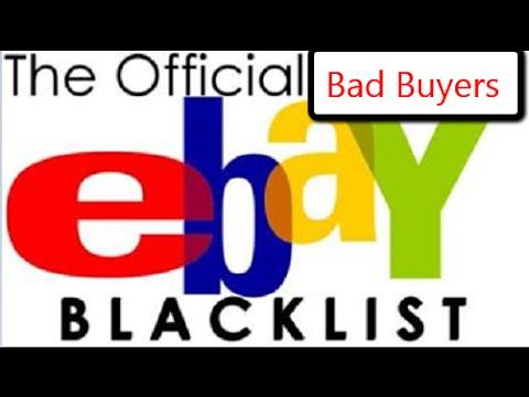 Selling On eBay For Beginners | How To Block eBay Buyers/Bidders | eBay Tutorial