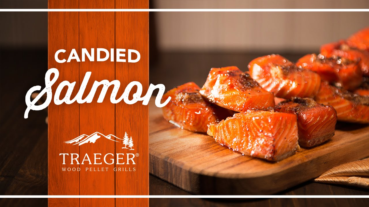 Sweet and Savory Candied Salmon Recipe by Traeger Grills - YouTube