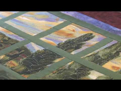 Window Frame Quilt Quilt By Sandi Youtube