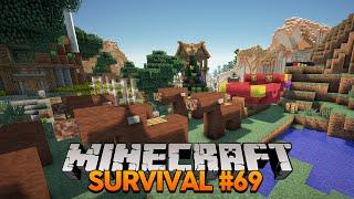 Minecraft Survival #69: O Trenó e as Renas!