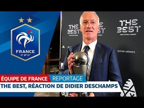 Equipe de France : The Best, la réaction de Didier Deschamps I FFF 2018