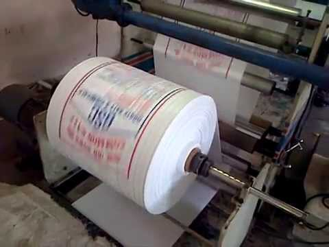 Flexo Printing Machine For Woven Sacks By Poly Flex
