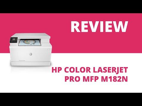 HP Color LaserJet Pro MFP M182n A4 Colour Multifunction Laser Printer