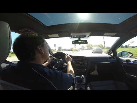 VW GTI ultimate test drive