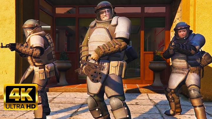 gta 5 insaneepic juggernaut suit bank heist 4k pc 60fps max settings