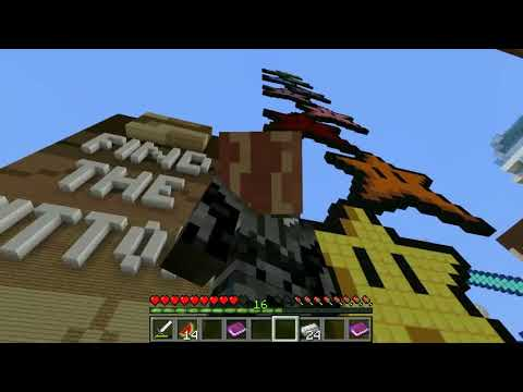 Minecraft FIND THE BUTTON GAME! HEAD HUNTER THEME PARK 700h00m00s - how to find a head hunter