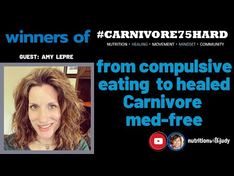 #carnivore75hard-winner:-from-compulsive-eating-to-healed-carnivore-med-free---amy's-journey
