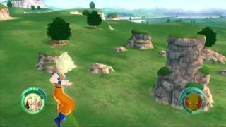 Dragon Ball Raging Blast Demo Gameplay HD [720p] - Goku VS Piccolo