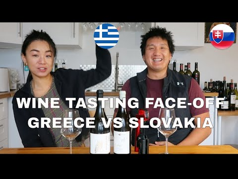 Wine Tasting Face-Off: Greece vs Slovakia