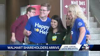 Thousands flying into NWA for Walmart Shareholders week