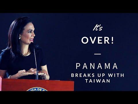 Panama cuts diplomatic ties with Republic of China (Taiwan)