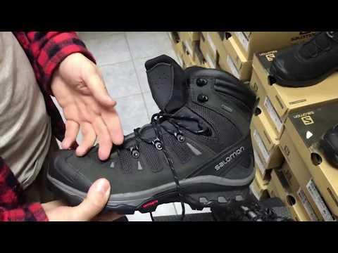 Обзор ботинок Salomon Quest 4D 3 GTX