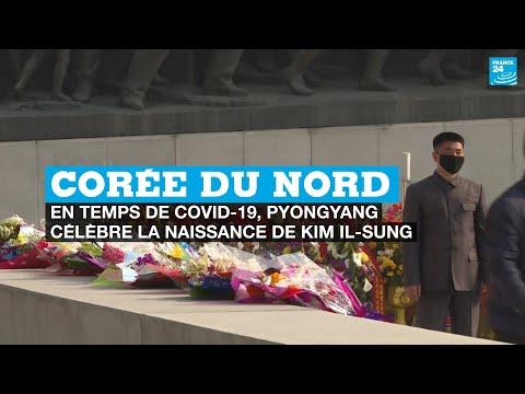 Corée du Nord: en temps de Covid-19, Pyongyang célèbre la naissance de Kim Il Sung