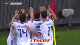 Les buts de Turquie-Russie (1-2) en vidéo - Football - Ligue des nations