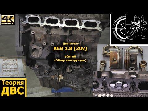 Фото к видео: Теория ДВС - Двигатель AEB 1.8 (20v) убитый (Обзор конструкции)
