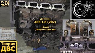 Теория ДВС: Двигатель AEB 1.8 (20v) убитый (Обзор конструкции)