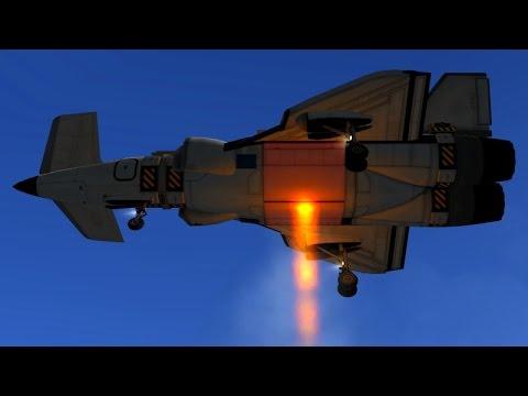 KSP - VTOL Control by Bay-Door Experiment
