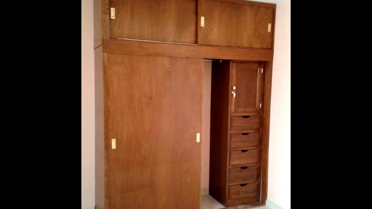 Closets en madera youtube for Closets finos madera