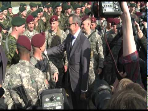 U.S. soldiers land in Estonia for training mission