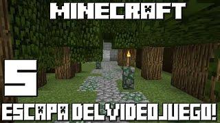 Minecraft ESCAPA DEL VIDEOJUEGO! Cap.5 THE LEGEND OF ZELDA!