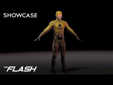 CW The Reverse Flash 3D Model Showcase | Cinema 4D