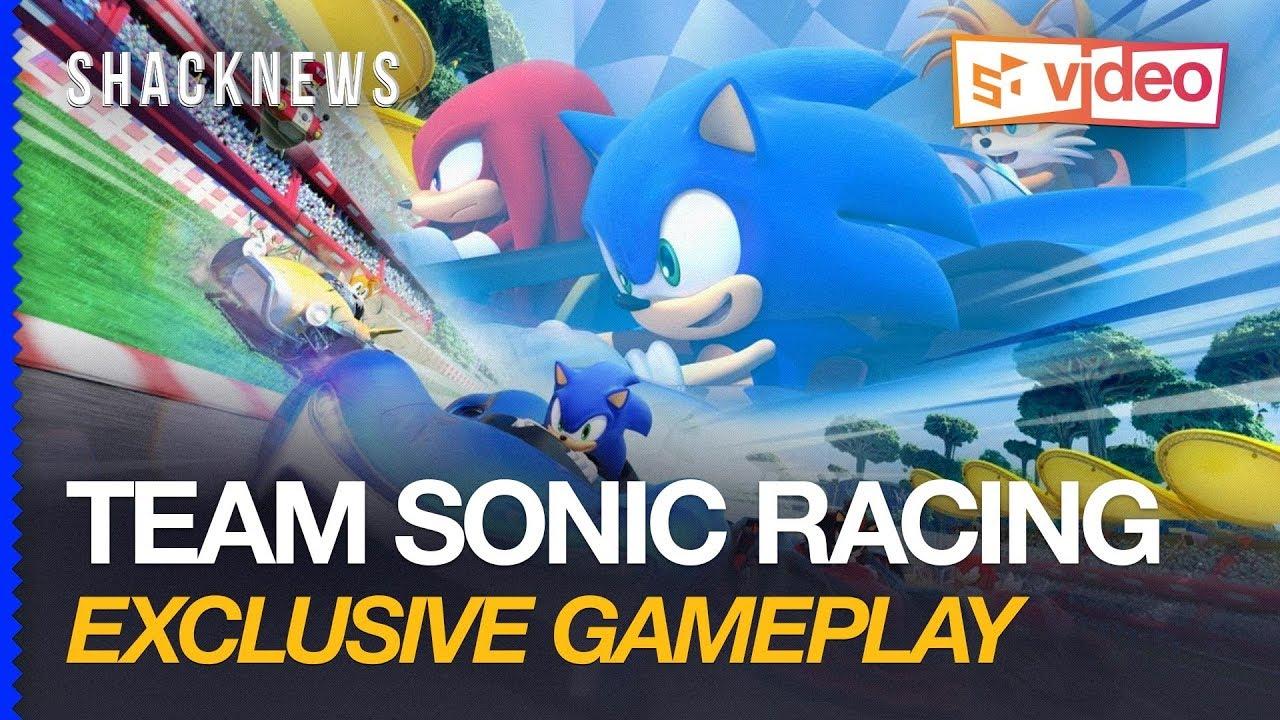 Team Sonic Racing Gameplay