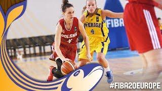 Sweden v Poland - Full Game - FIBA U20 Women's European Championship 2017 thumbnail