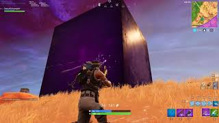 RIFT EXPLODED! SECRET SQUARE IN FORTNITE MAP! UP CLOSE!