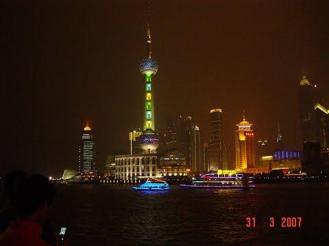 Rejsen til Shanghai.