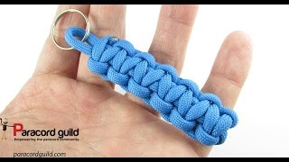 How to make a simple paracord keychain