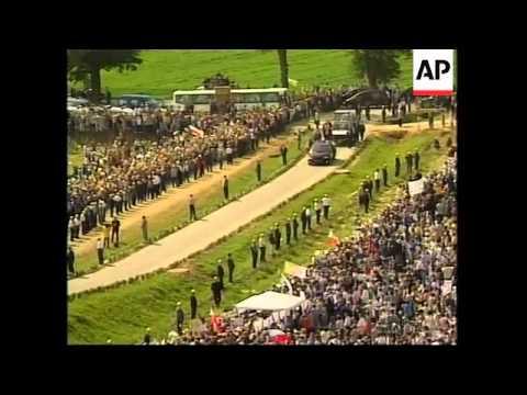 POLAND: POPE JOHN PAUL II VISIT