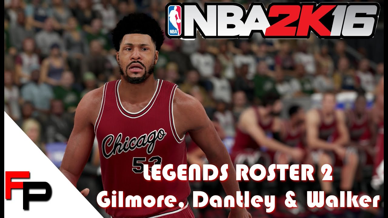 NBA 2K16 How to Create Artis Gilmore Adrian Dantley & Chet