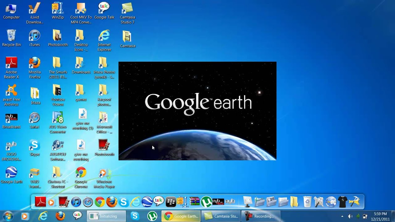 How To Download Google Earth For Windows 7 Youtube