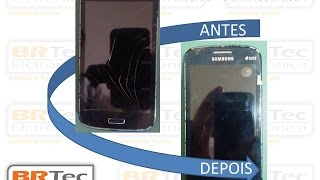Troca da Lente Tela Touch Galaxy S3 Duos I8262