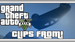 Gta 5 Online Funny Moments - Flips And Sh*t! (clips From)