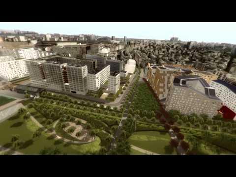 Clichy-Batignolles en 3D
