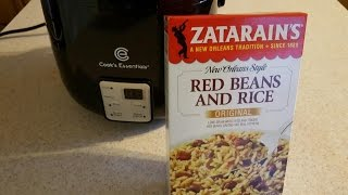 zatarain s red beans and rice cook s essentials 5 cup digital perfect cooker