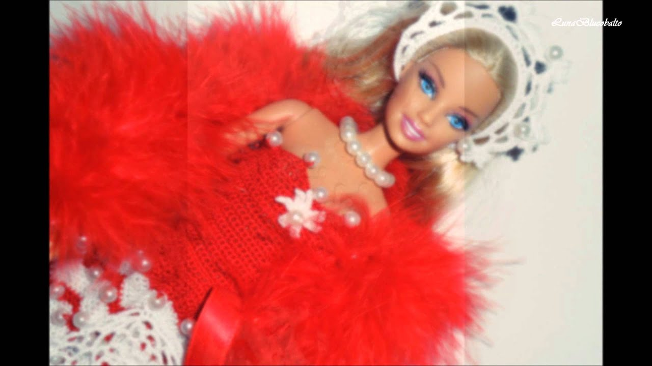 Lavori Artistici Alluncinetto Abiti Per Barbie Youtube